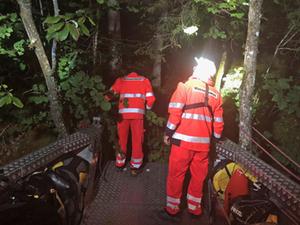 Region: Nachteinsatz Bergwacht