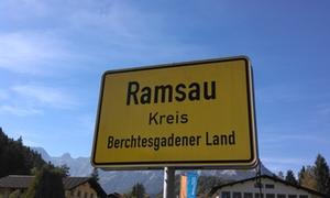 Ortsschild Ramsau