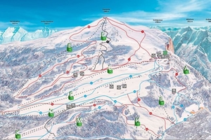 Skigebiet Steinplaate Waidring