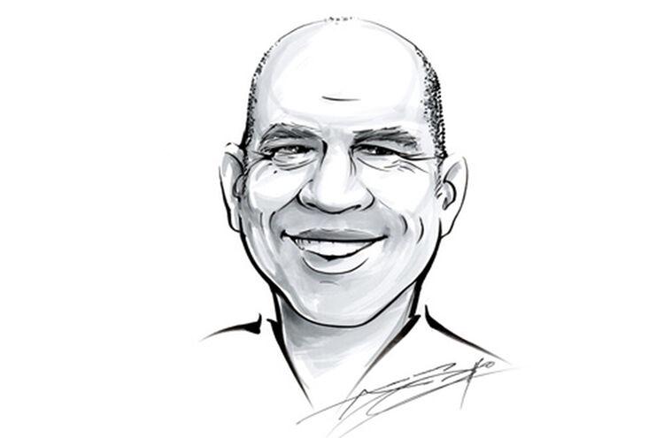 Peter Mack Karikatur