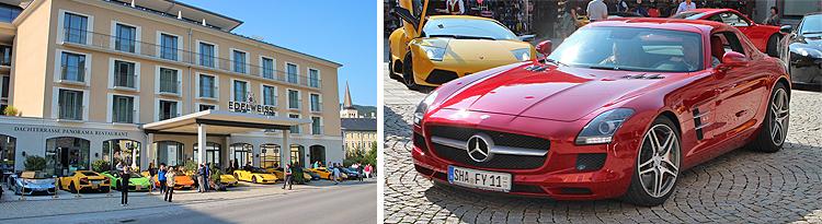 Pfeff Sportwagentreffen in Berchtesgaden 2017