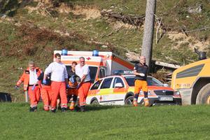 Unfall BRK Bischofswiesen