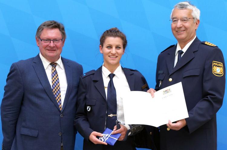 Polizeisportler Ramona Hofmeister Ausschnitt