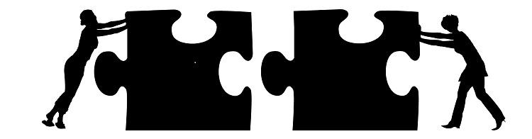 Puzzle Zusammenhalt