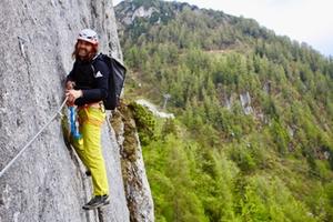 Klettern Laxersteig