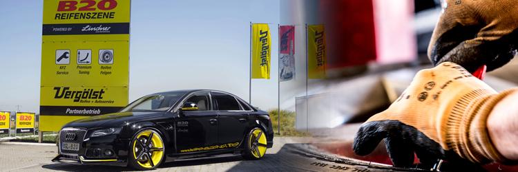 Reifenszene B20 - kostenlos Reifen wechseln