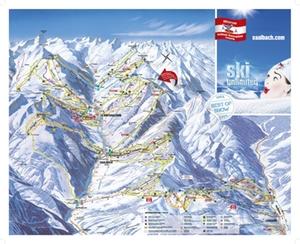 Skigebiet Saalbach
