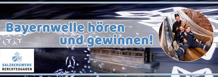 Salzbergwerk Berchtesgaden Gewinnspiel