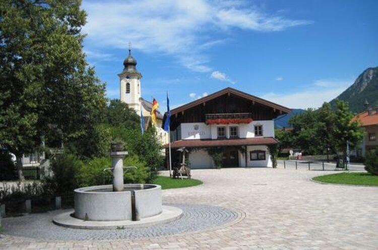 Schleching Dorfplatz