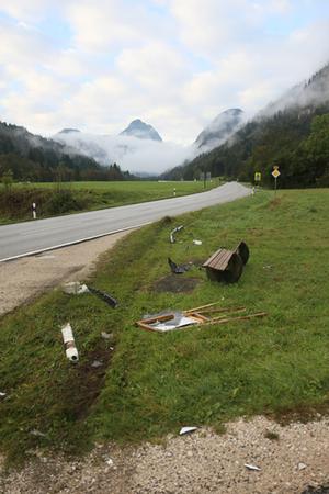 BRK Schneizlreuth Unfall 1