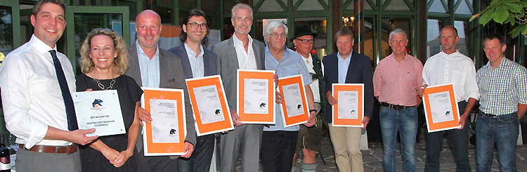 Sommerempfang der Wirtschaftsregion Chiemgau 2017