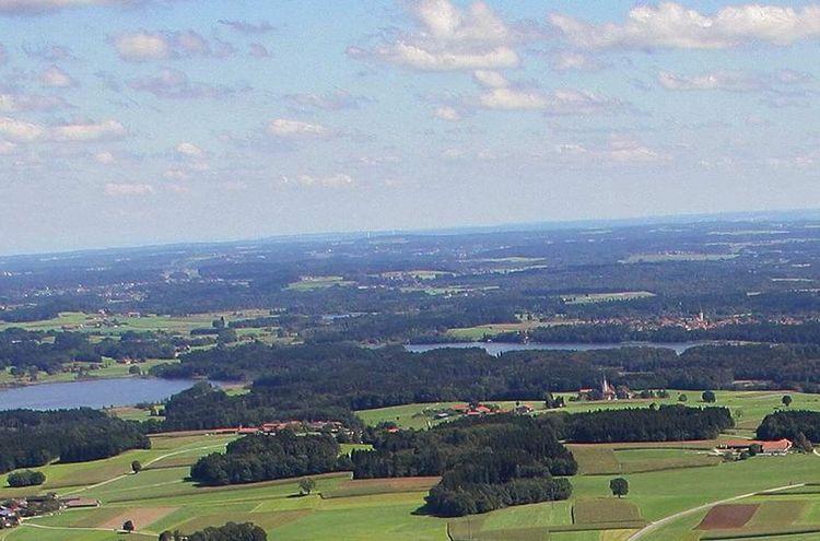 Seenplatte Ostblick Ausschnitt