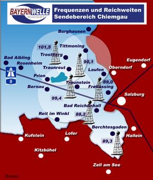 Sendegebiet Chiemgau