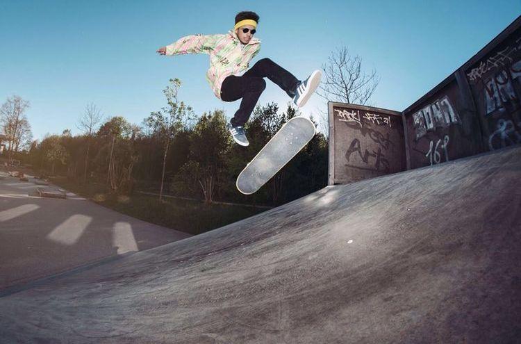 Skatecontest Foto Marinus Dobler Stadt Traunstein