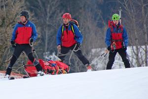 Skitourengeherin Irlberger