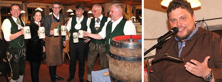 Starkbieranstich 2019 im Brenner Bräu Bischofswiesen