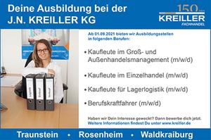 Banner Kreiller Traunstein - Azubi - Auszubildende
