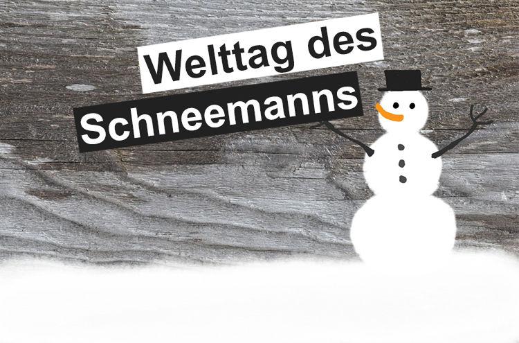Tag Des Schneemann 1