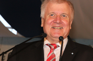 Horst Seehofer in Waging