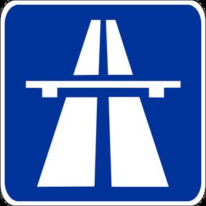 Autobahnzeichen