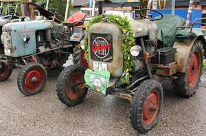 Traktoren Parade Inzell 2015