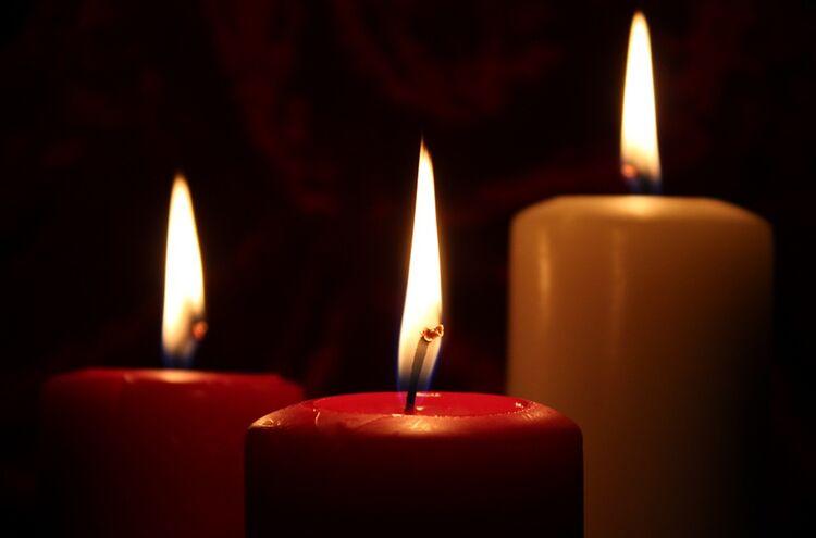Trauer Kerzen