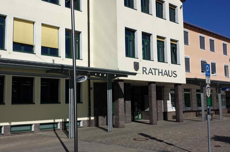 Traunreut Rathaus