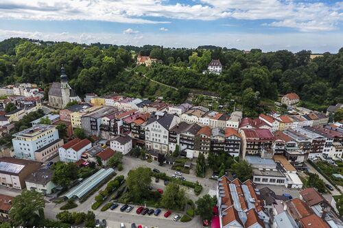 Trostberg 1 Foto Luftaufnahme Chiemgau De