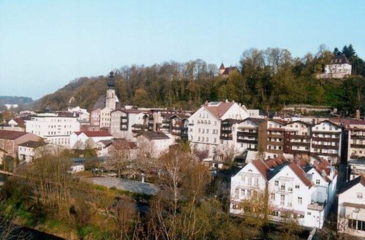 Trostberg Luft Altstadt 1