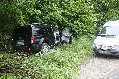 Unfall B20 Bichlbruck 3