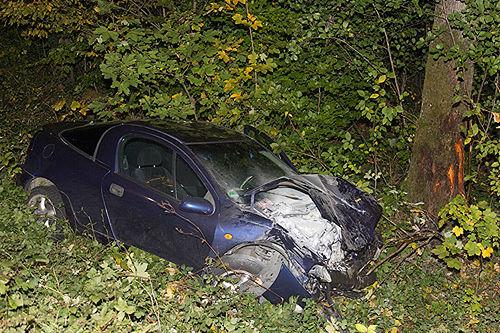 Unfall Opel Brk 2
