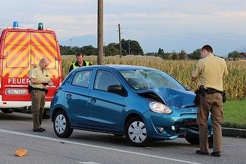 Unfall Rollerfahrer 2