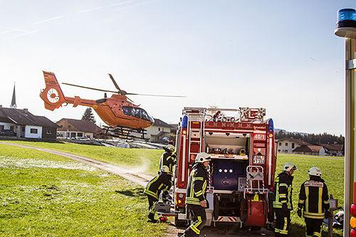 Unfall Teisendorf Brk Bgl 3