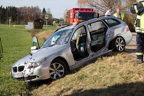 Unfall Teisendorf Brk Bgl 5