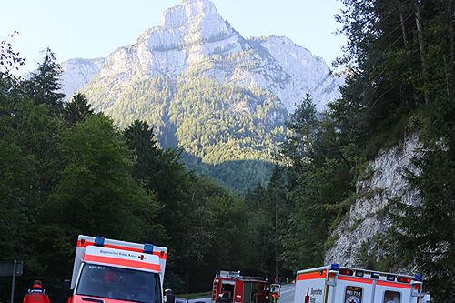 Unfall Unterjettenberg 3 1