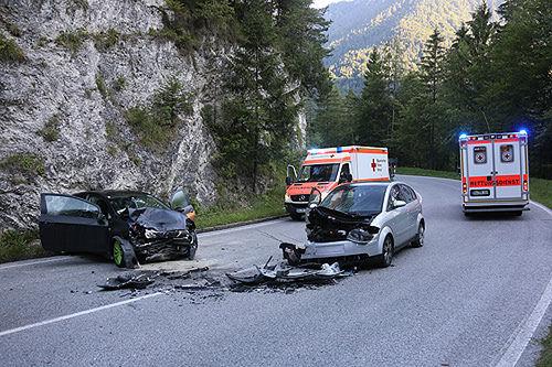 Unfall Unterjettenberg 4
