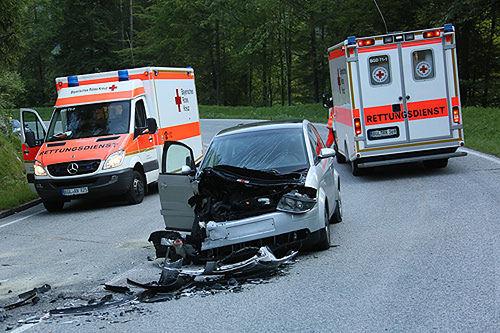 Unfall Unterjettenberg 5