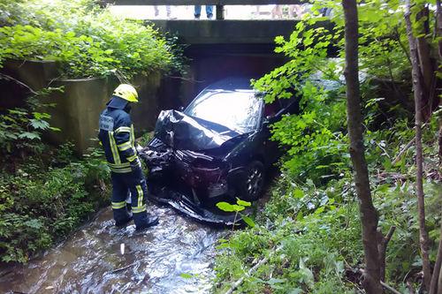 Unfall Urwies Bach 3