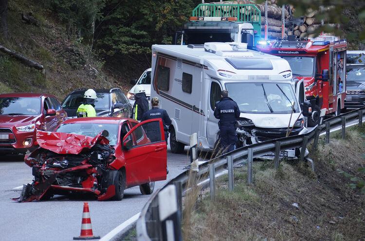 Unfall Wohnmobil