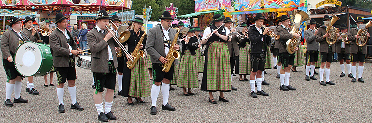Volksfest Trostberg 2017 Anstich