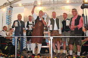 Volksfest Trostberg 2018 Eröffnung