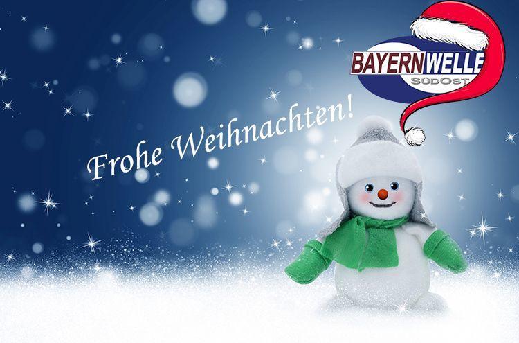 Weihnachtsbanner Schneemann Logo 750x495px