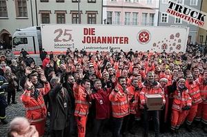 Johanniter-Weihnachtstrucker