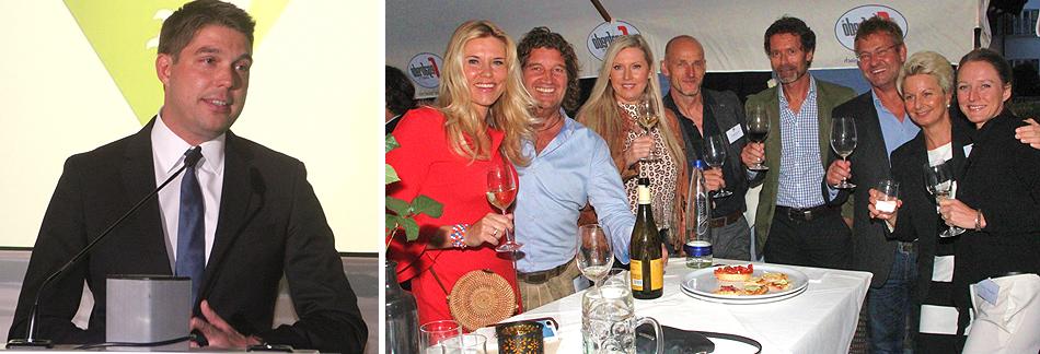 Sommerempfang der Wirtschaftregion Chiemgau 2019 auf Gut ising