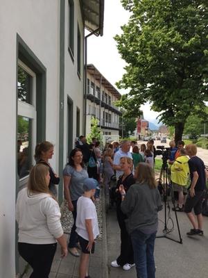 Unterschriftensammlung Salzburghofen
