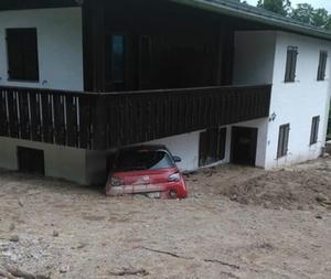 Hochwasser Berchtesgaden