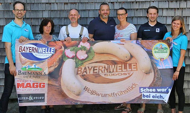 Bayernwelle Weißwurstfrühstück 01 Juni 2018 Hammerau