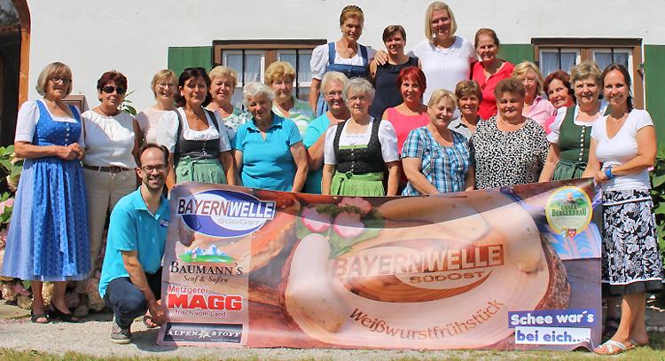 Bayernwelle Weißwurstfrühstück 03 August 2018 in Ruhpolding