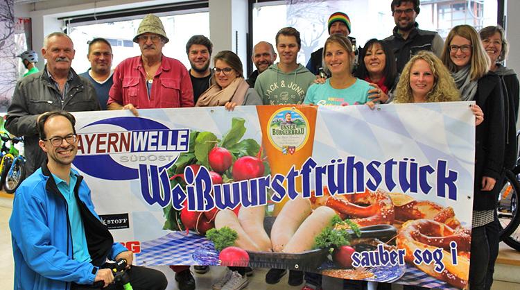 Bayernwelle Weißwurstfrühstück 03. November 2017 in Berchtesgaden