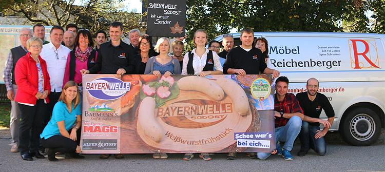 Bayernwelle Weißwurstfrühstück 05 Oktober 2018 in Hammerau
